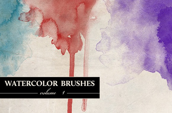 Watercolor Brushes Vol 1