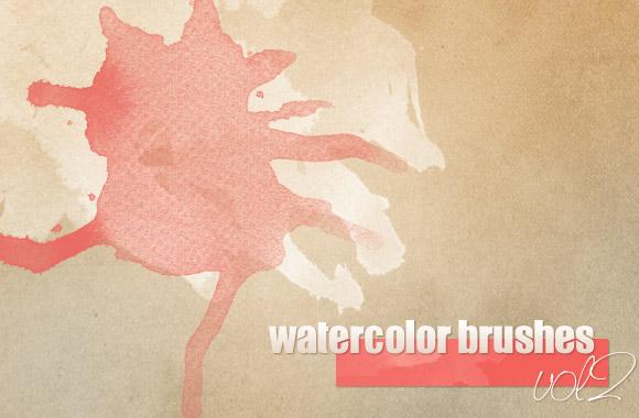 Watercolor Brushes vol2