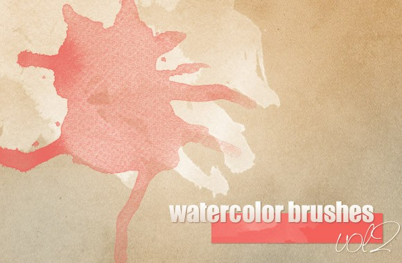 Watercolor Brushes vol2