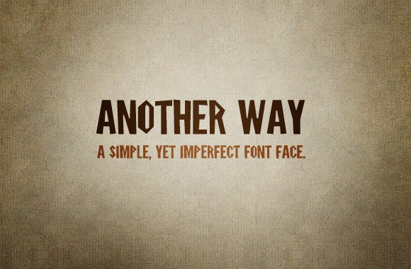 Another Way - Font Kit