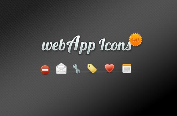 webApp Icon Set