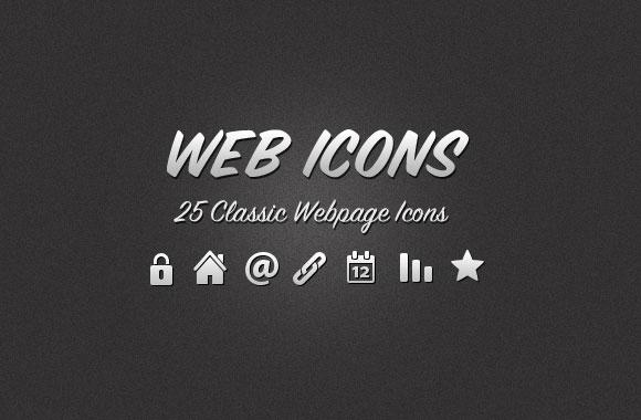 Classic Web Icons Vol 1