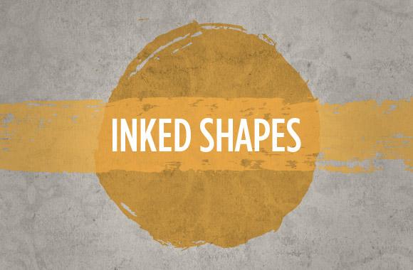 Inked Shapes Vectors