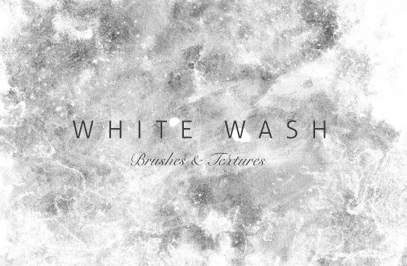 White Washed Brushes and Textures