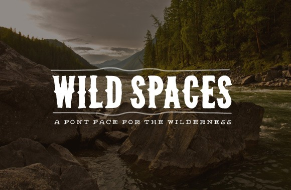 Wild Spaces - Wilderness Font Face