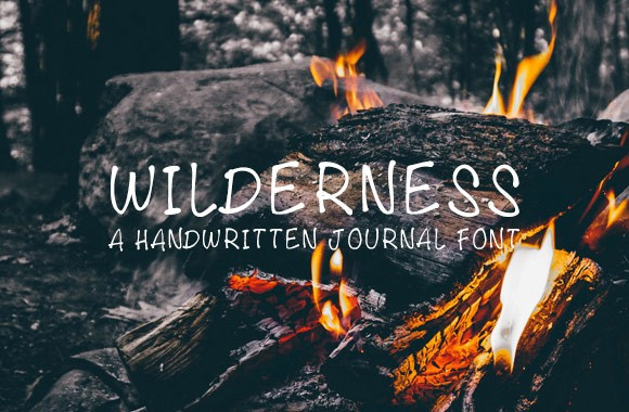 Wilderness Journal Font