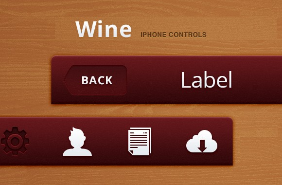 Wine iPhone Controls