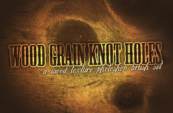 Wood Grain Knot Holes