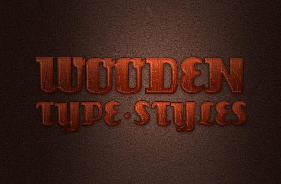 Wooden Type Styles