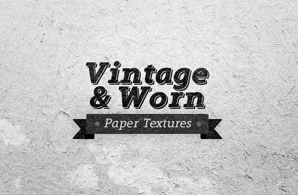 Vintage & Worn Paper Textures