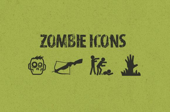 Free Vector Zombie Icons