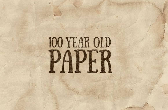 100 Year Old Paper Textures