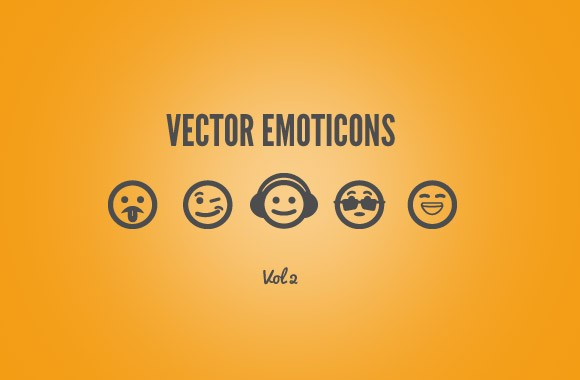 25 Free Vector Emoticons - Vol 2