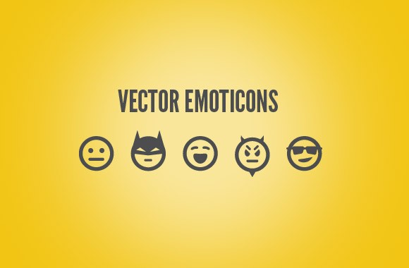 25 Free Vector Emoticons