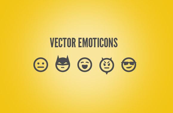 25 Free Vector Emoticons