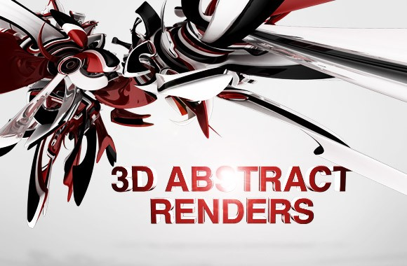 3D Abstract Renders vol1