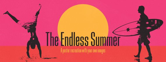 Make Your Own Endless Summer Poster in Photoshop