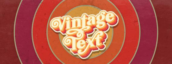 Make a 70s Text Effect in Illustrator