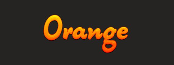 How To Create a Tangy Orange Text Effect With Photoshop Layer Styles