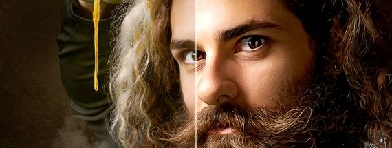 Convert a Portrait to an Oil Painting in Photoshop Without the Oil Paint Filter
