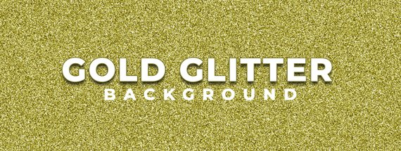 Create a Sparkling Gold Glitter Background