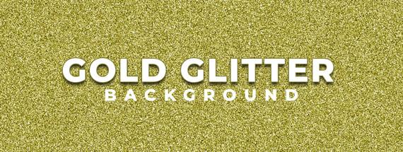 Create a Sparkling Gold Glitter Background