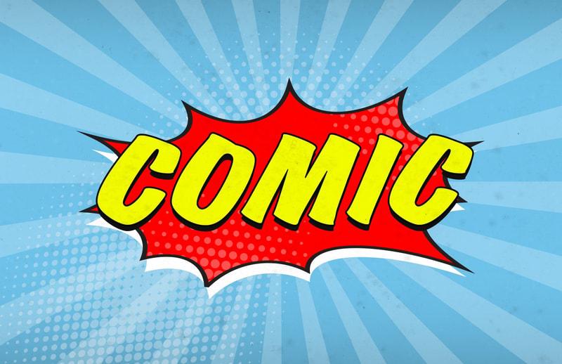 Free, Printable Comic Strip Templates