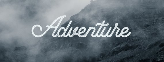 How to Add Style & Texture to a Font to Make it Look Outdoorsy