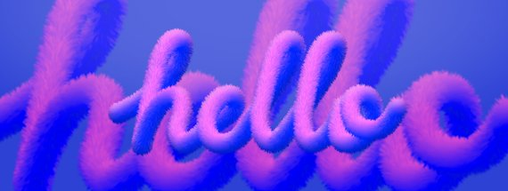 How to Easily Make a Fur Text Effect in Illustrator