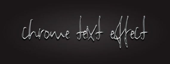 How to Make a Chrome Text Effect in Photoshop