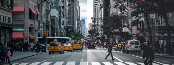 How to Make a Desaturated Urban Look in Photoshop