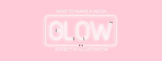 How to Make a Neon Glow Effect in Illustrator