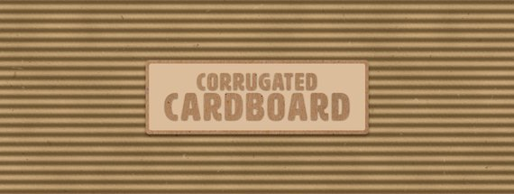 How to Make a Perfectly Corrugated Cardboard Texture