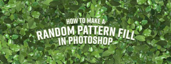 How to Make a Random Pattern Fill in Photoshop