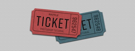 How to Make a Realistic Looking Raffle Ticket