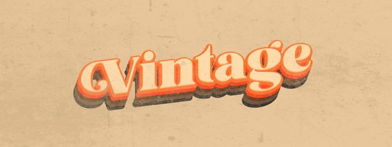 How to Make a Vintage Text Effect in Photoshop