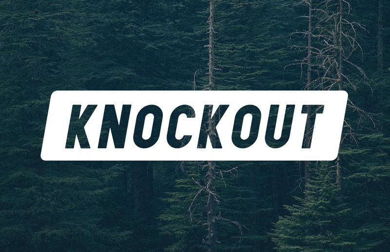 How to Make an Editable Knockout Text in Photoshop