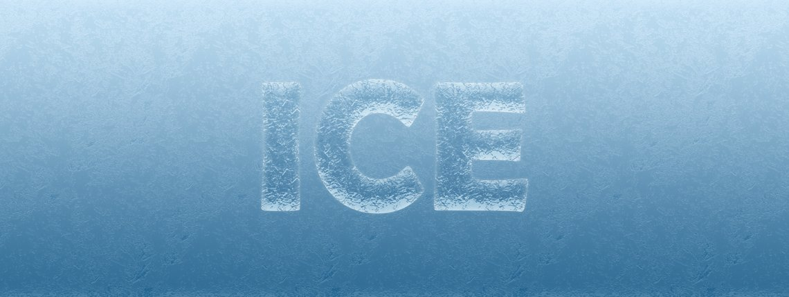 How to Make an Ice text Effect in Photoshop for That