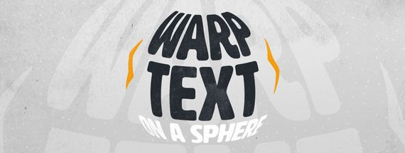 How to Warp Anything on a 3D Sphere in Illustrator