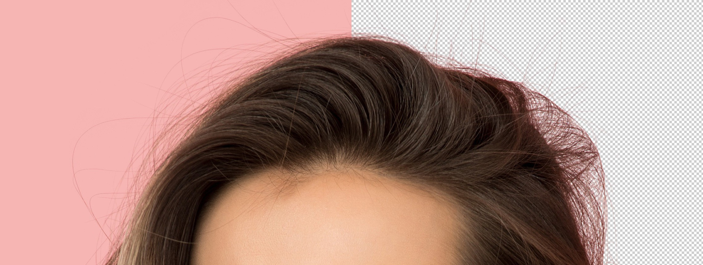 How to Easily Erase Background from Hair: the Photoshop Background Eraser Tool
