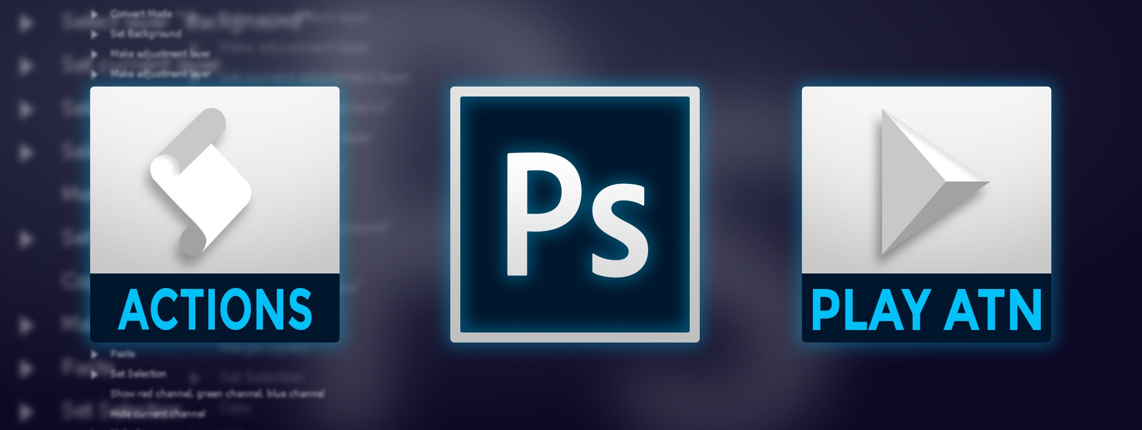 How to install and use actions in photoshop