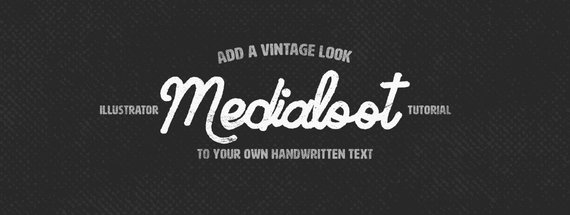 How To Add a Vintage Look To Your Own Handwritten Text