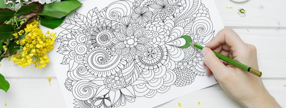 Inspirational Adult Coloring Pages on Instagram