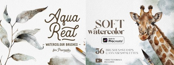 32 Procreate Brushes for Gorgeous Illustrations