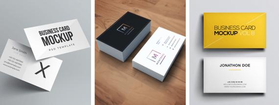 Top 40 Free & Premium Business Card Mockup Templates