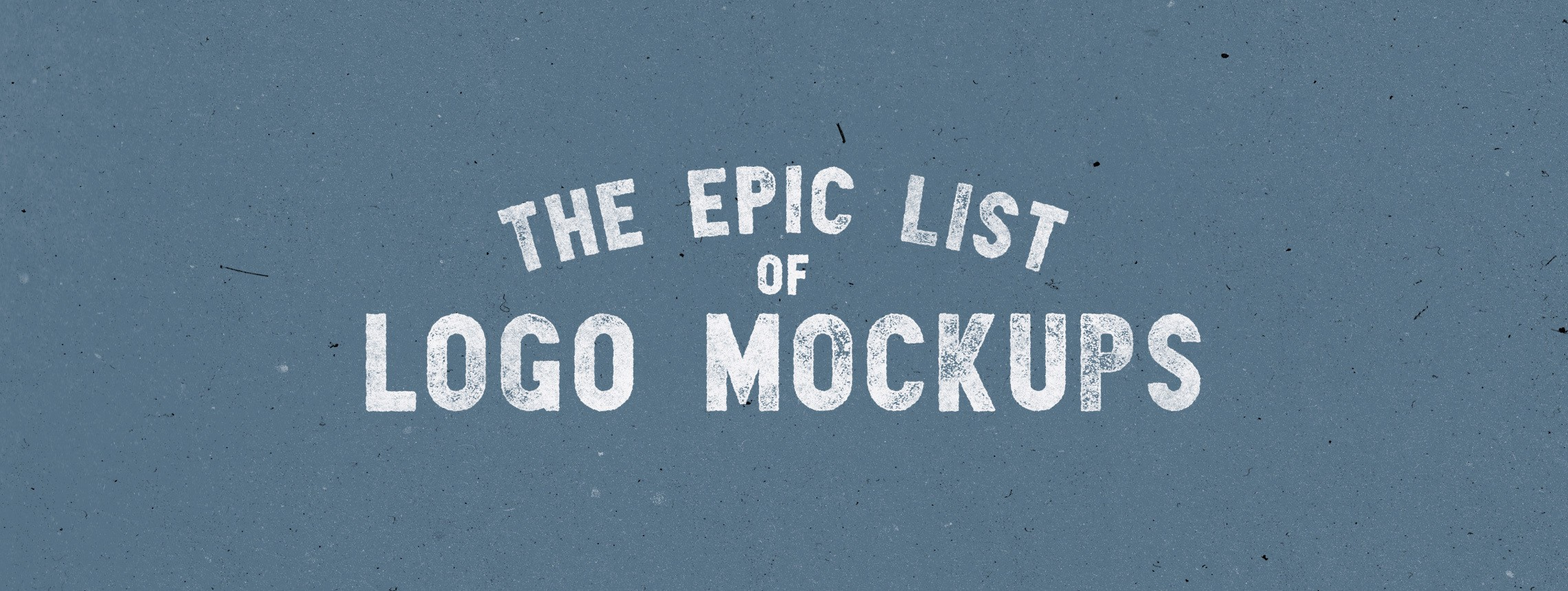 The Epic List: 100+ Logo Mockups of Every Type