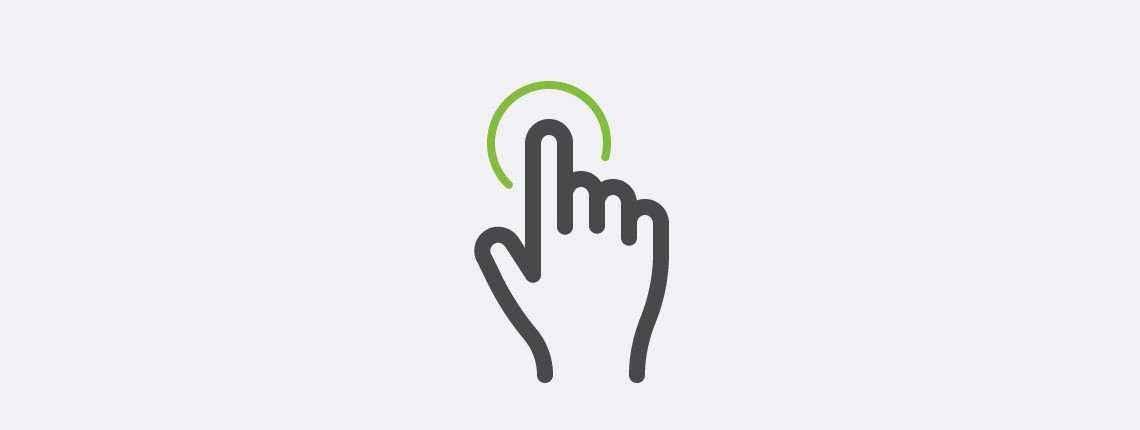 How to Draw a Multi-Touch Tap Gesture Vector Icon