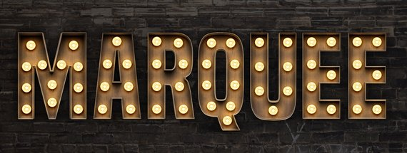 How to Create a Marquee Light Bulb Sign with Photoshop