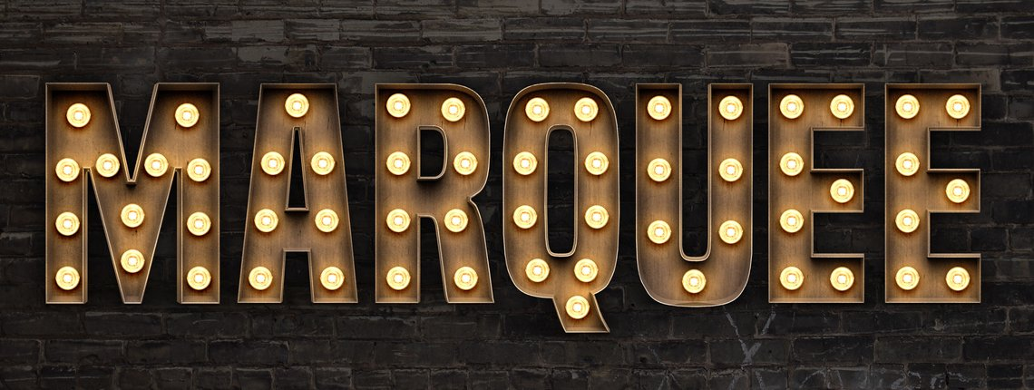 How to Create a Marquee with Lettering in Photoshop ...