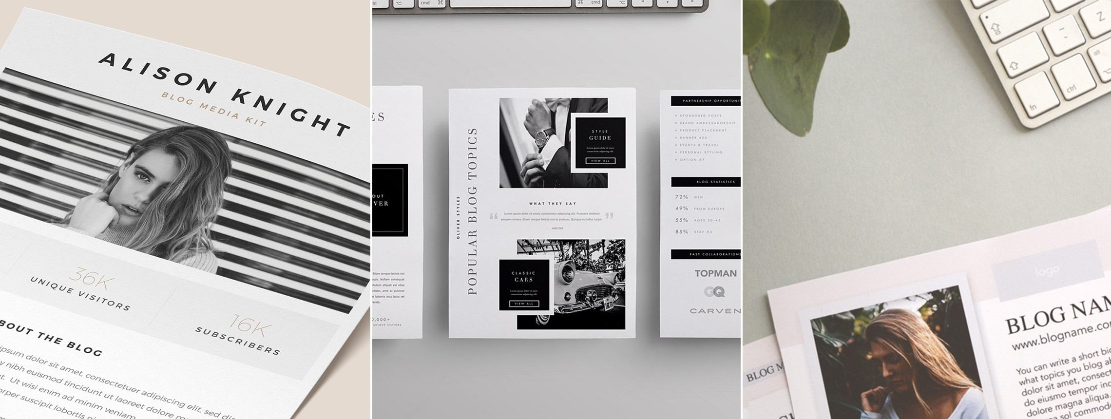 22 Free Media Kit Templates to Pitch Your Brand